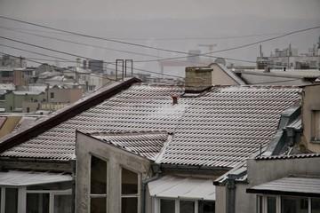 Snow Day in Varna, Bulgaria.25.02.2018