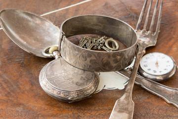Ein Schatz / Altes Silber