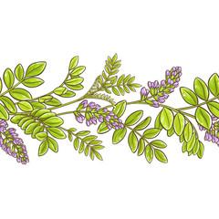licorice vector pattern