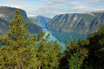 Norway. The Sognefjord is included in the UNESCO World Heritage List.