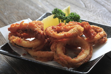 Fried squid image