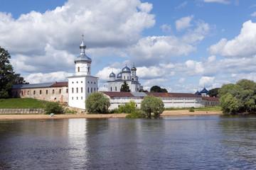 Yuryev monastery on the Volkhov river, Orthodox monastery