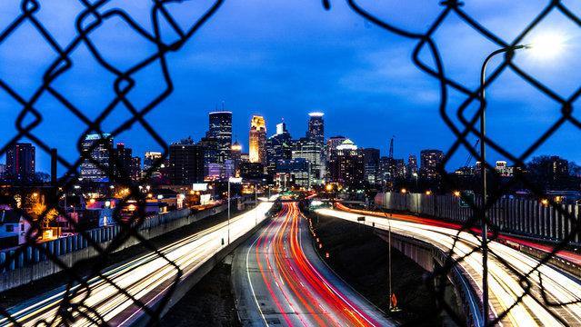 Minneapolis Long Exposure at Night