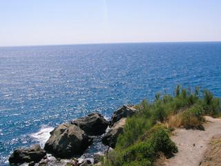 Beautiful views of the sea