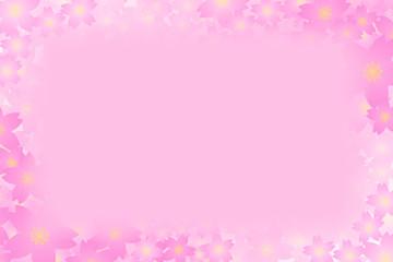 背景素材壁紙,写真枠,フォトフレーム,花,満開,花柄,花びら,植物,自然,草花,春,夏,メッセージ,