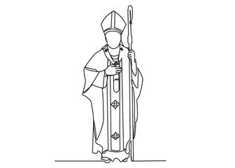 Catholic priest Fotomurales
