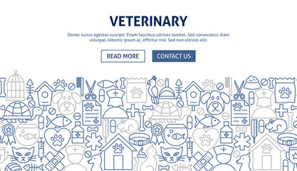 Veterinary Banner Design