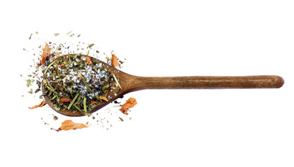 Salt with Petals and Herbs
