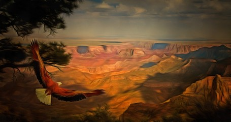 Grand Canyon Eagle