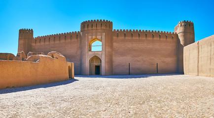 The Castle of Arg-e Rayen, Iran