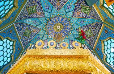 Dome in Shrine of Rayen, Iran