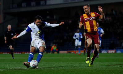 League One - Blackburn Rovers vs Bradford City