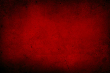 Red concrete wall Wall mural