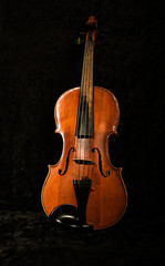 Old red violin