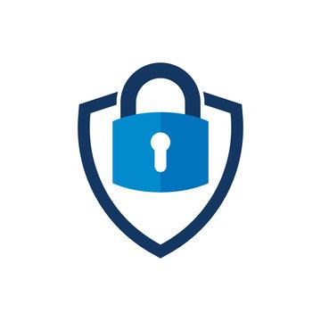 Security Shield Logo Icon Design