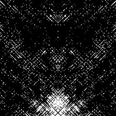 Black and White Grunge Dust Messy Background. Perfect For Posters, T-shirts, Banners, Retro and Urban Designs