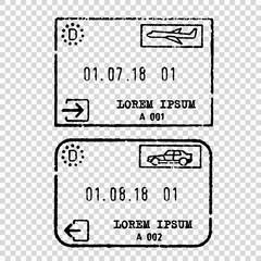 Germany tourist visa stamp
