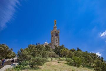 マルセイユのノートルダム・ド・ラ・ガルド寺院,