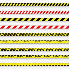 Caution and danger stripe