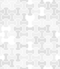 Seamless light gray background for your designs. Modern ornament. Geometric abstract pattern