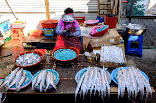 Jagalchi Fish Market, Busan