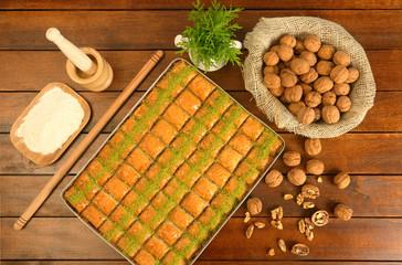 Baklava The Turkish Dessert