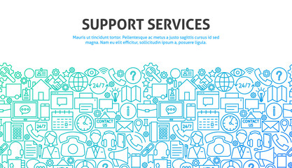Support Services Concept