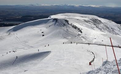 Super Besse, station de ski, Auvergne, France