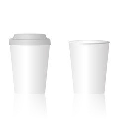 Mock up papercup