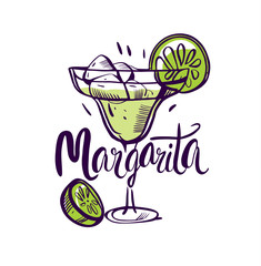 Vector illustration Classics margarita