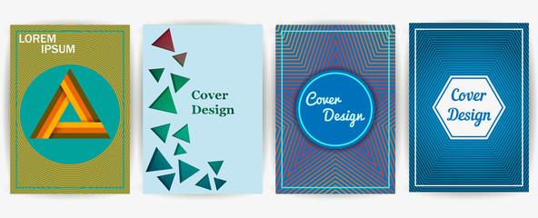 Minimal covers design. Vector template brochures, flyers, presentations, leaflet, magazine a4 size