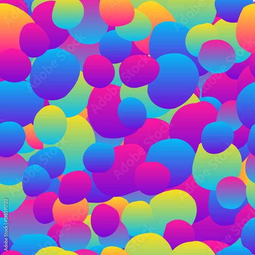 Abstract Rainbow Seamless Pattern Background Modern