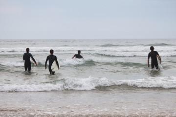 Sommer, Surfen, Meer und Strand