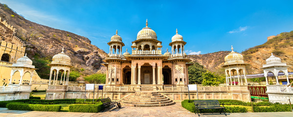 Royal Gaitor, a cenotaph in Jaipur - Rajasthan, India