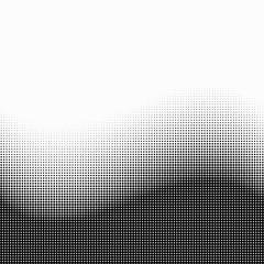 Screentone Graphics_Halftone Gradation_Black Dots