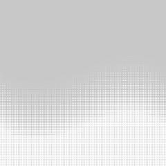 Screentone Graphics_Halftone Gradation_White Dots