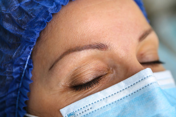 permanent makeup eyebrow