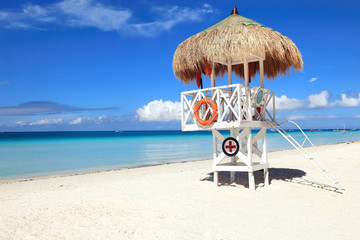 Lifeguard Shack, Boracay Island, Philippines