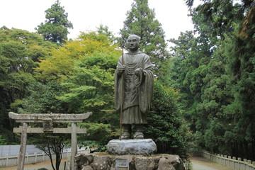 四国別格霊場第7番札所「出石寺」弘法大師像