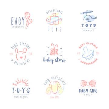 Baby logos.