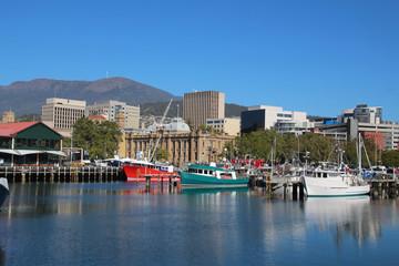 Hafen von Hobart- Tasmanien