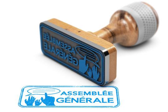 Convocation ou invitation à l'assemblée générale.