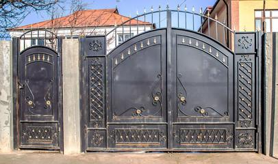 Beautiful Forged Metal Gates