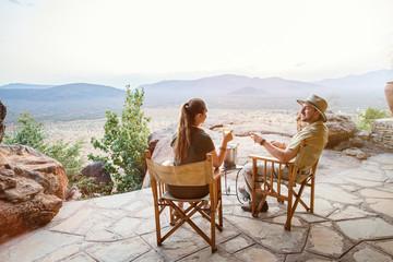 Luxury safari vacation