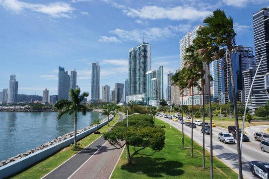 Skyline of Panama City, Panama