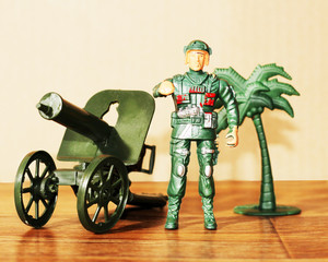 Toy soldiers plastic for boys, army