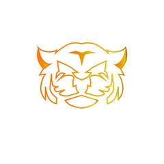 tiger head logo icon