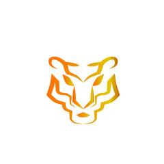 tiger head logo icon