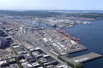 Port of Seattle Washington.