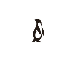 penguin animal logo
